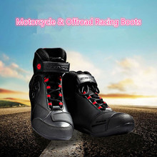 Motorcycle Boots Road Automobile Racing Boots Riding Hiking shoes