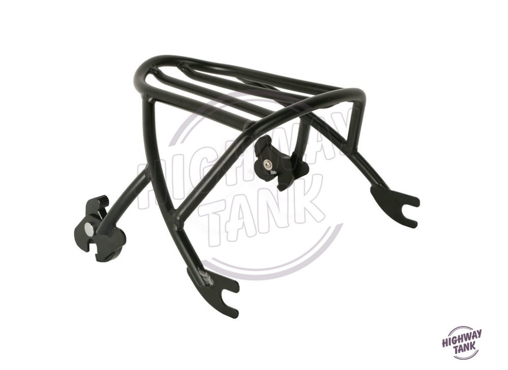 Motorcycle Detachables Solo Luggage Rack Moto Rear decoration mounting case for Harley Sportster XL1200 XL883 2004 2005-2017