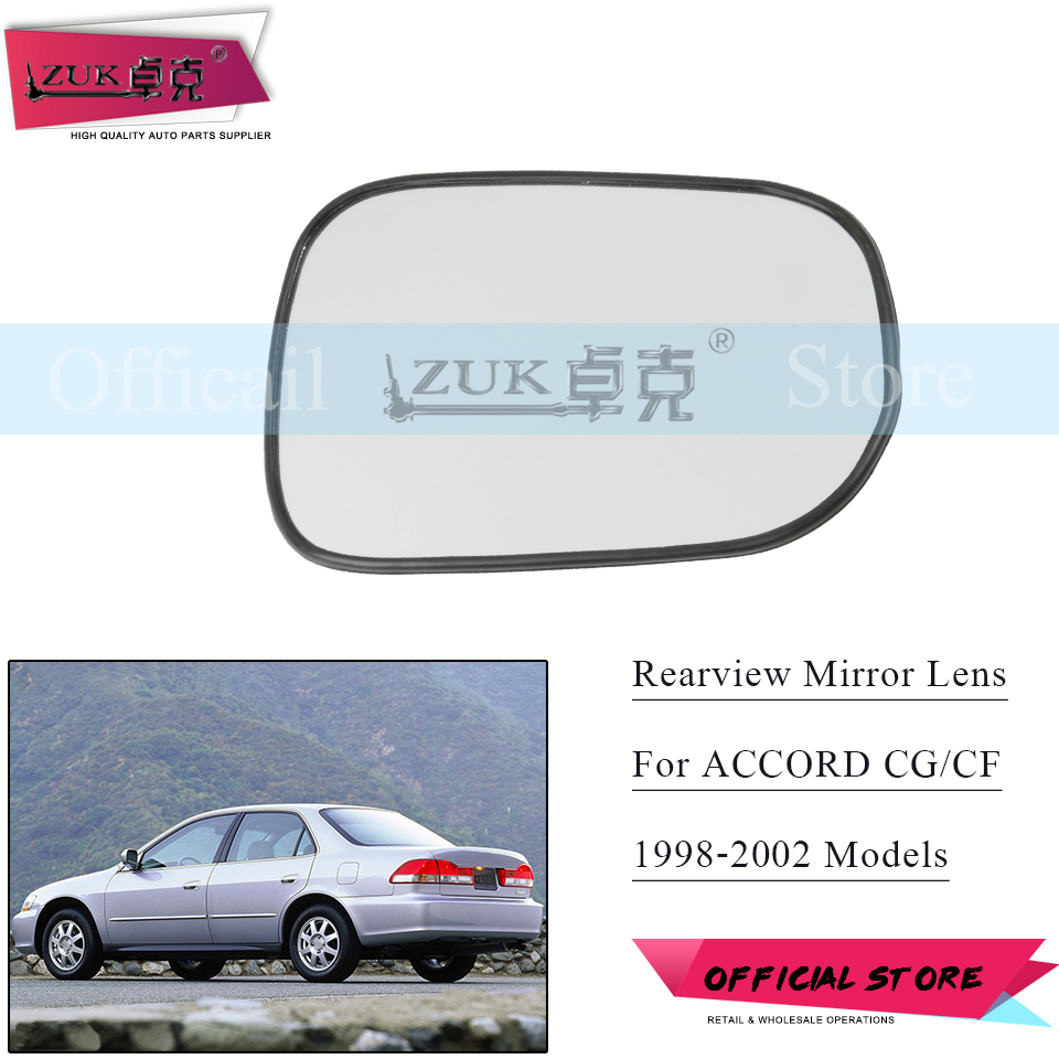 Fit 1998-2002 Honda Accord 4 Door Sedan Driver Side Left Rear Door Glass