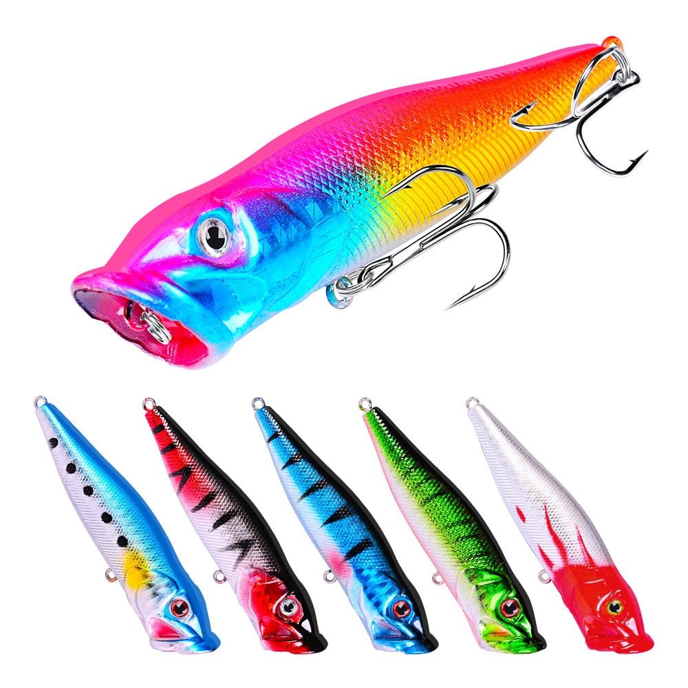 Hard Baits Crank Fishing Lures 7.5cm//10.2g Fishing Wobblers 3D Eye-Bassbaits