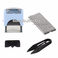 Shiny Durable Self Inking Rubber Stamper S 882 Seal Office Stationary Business Mini Active Letters Digitals