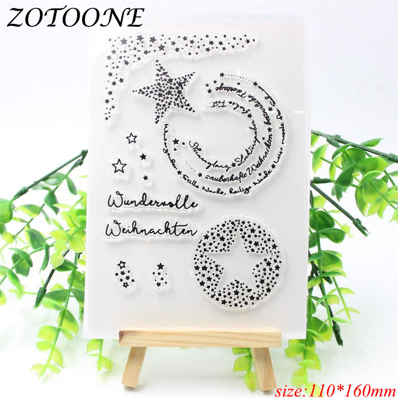 Hot Sale ZOTOONE DIY Christmas Rubber Stamps for Card Making Sellos ...