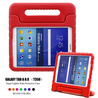 Kids Children Safe Rugged Proof Thick EVA Foam Kids Case Handle Stand For Samsung GALAXY Tab