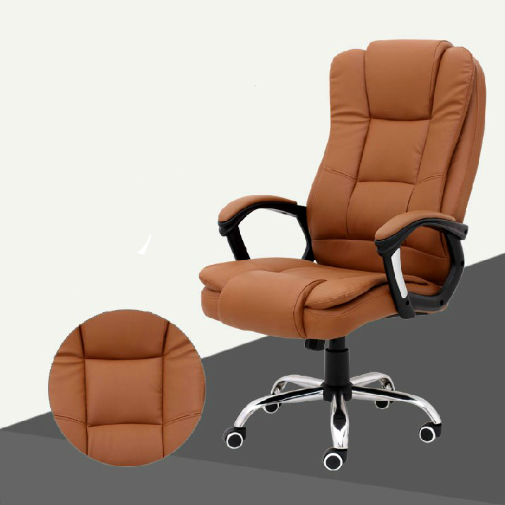 High Quality Executive Office Chair Gaming Computer Chair Lifting 360 Degree Swivel Thicken Backrest Soft Sponge Cushion 240340 high quality back pillow office chair 3d handrail function computer household ergonomic chair 360 degree rotating seat