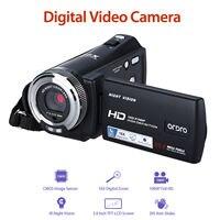 ORDRO HDV V12 3.0inch LCD 1080P FHD Digital Camera Cam Camcorder DVR DV 16x Zoom Video Recorder Night Vision CMOS Sensor