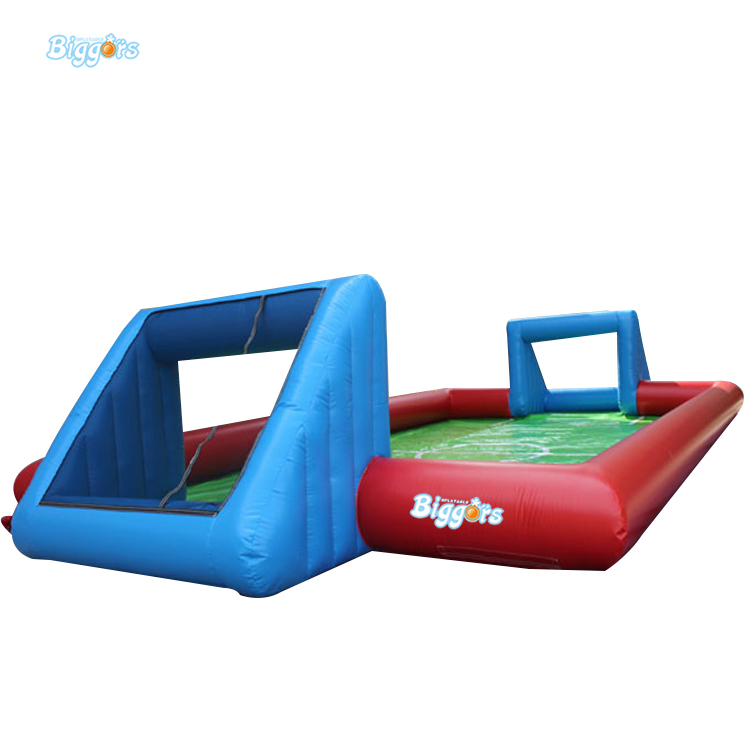 Inflatable Biggors Multi Person Sports Games Inflatable Soap Soccer Field Inflatable Football Course