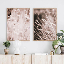 лучшая цена Grass Nature Picture Scandinavian Poster Landscape Wall Art Canvas Painting Modern Modern Living Room Pictures Unframed