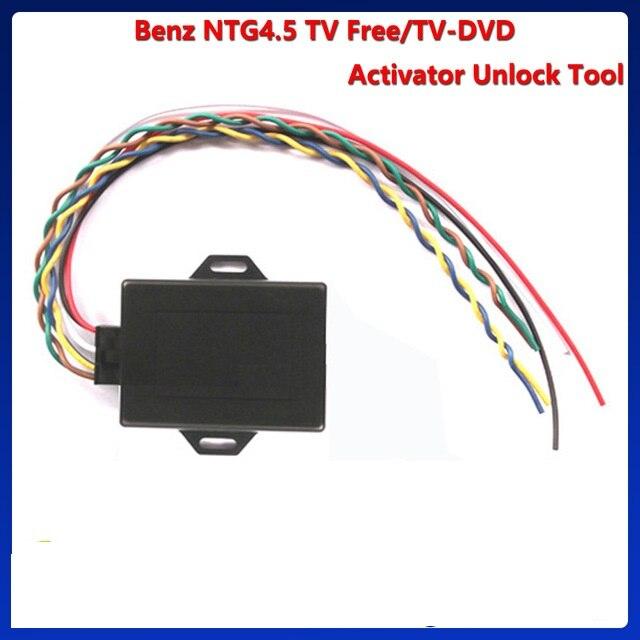 TV GRATUITE DÉVERROUILLER OUTIL NTG 4.0/NTG 4.5/NTG 4.7 Soutien W212/W204/X204/W166 /X166/B/A (Conduite Vidéo Déverrouillé/Vedio dans motion)