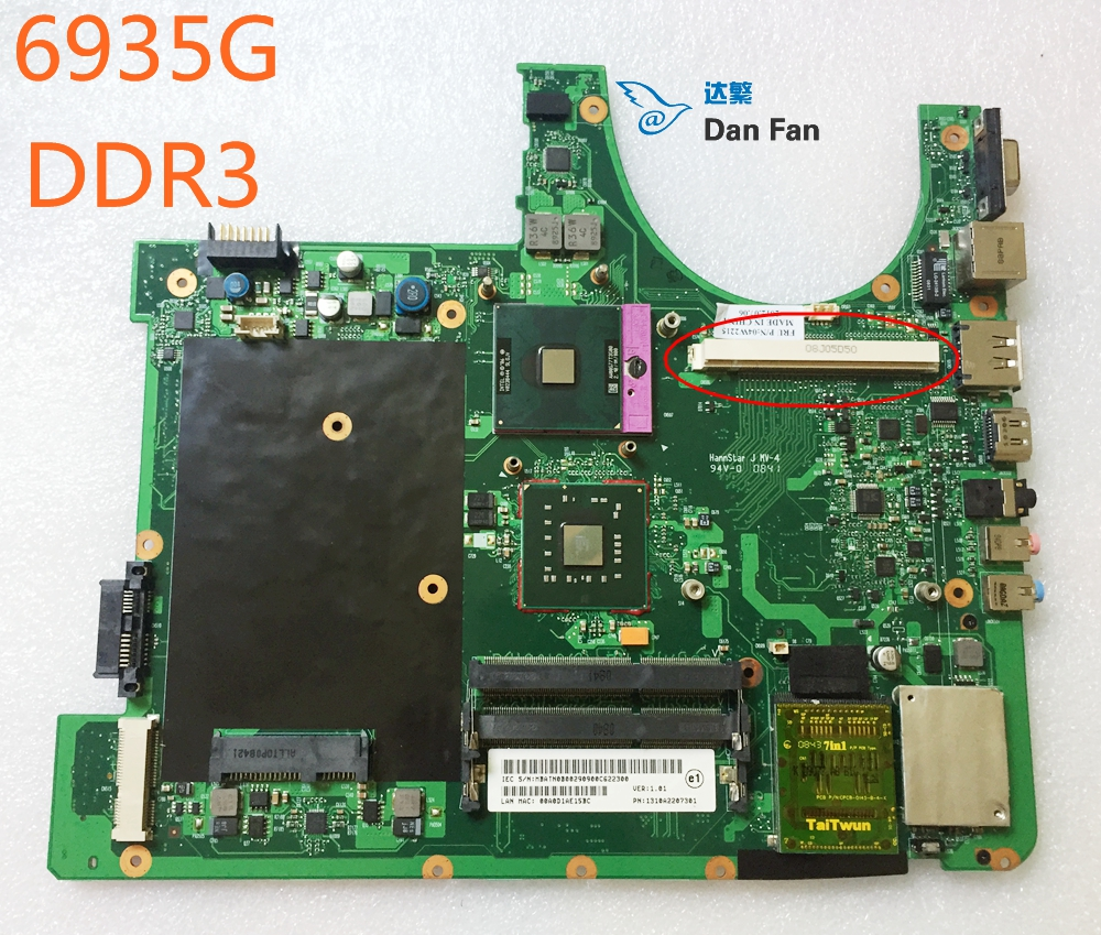 For ACER 6935 6935G Laptop Motherboard MBATN0B002 Mainboard 100%tested fully work