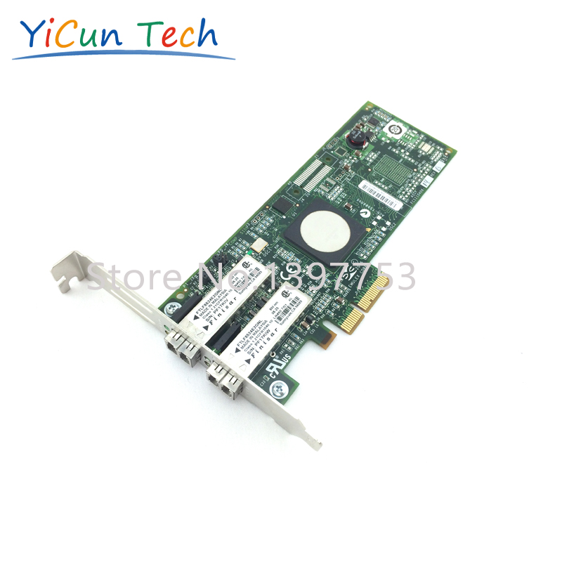 A8003A 397740-001 StorageWorks FC2242SR 4Gb Dual Port PCIe Host Bus Adapter - New ,Retail Box ,1 year warranty