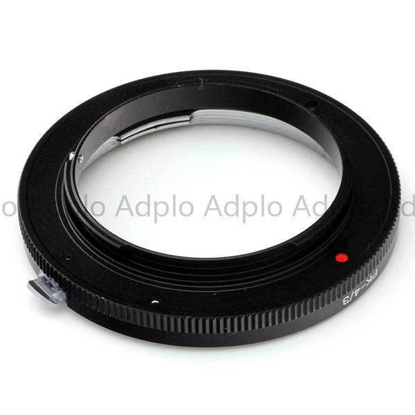 lens adapter work for Pentax PK lens to Olympus OM4 3 adapter E 5 E 7 E420 E620 E520 E 410 E 510 E500 E3 E510 E 300 e 300 in Lens Adapter from Consumer Electronics