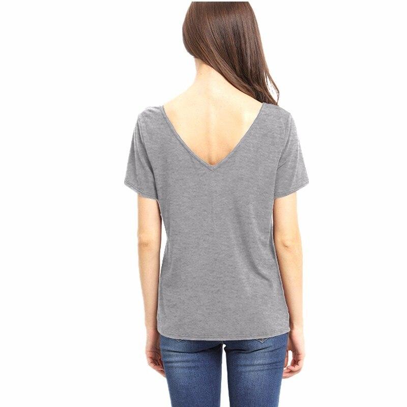 HTB1q8gDMVXXXXXVapXXq6xXFXXXy - Bandage Sexy V Neck Criss Cross Top Casual Lady Female T-shirt