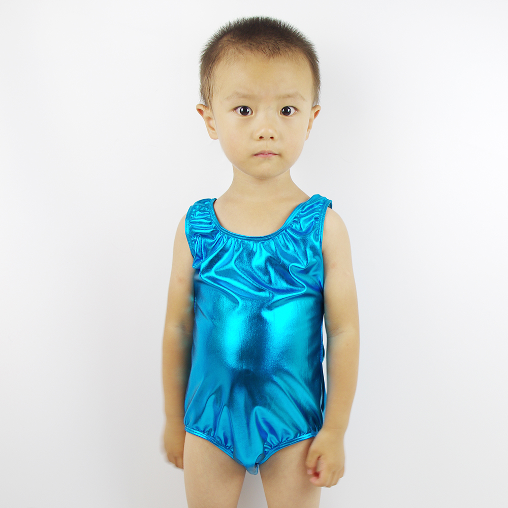 Black spandex dance unitard gymnastics and dancewear - Speerise Boys Silverballet Dance Leotards Children Lycra Spandex Girl Dancewear Shiny Metallic Gymnastics Suits For Kids