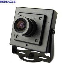 REDEAGLE 700TVL CMOS السلكية البسيطة مربع مايكرو CCTV الأمن كاميرا مع جسم معدني 3.6 مللي متر عدسة