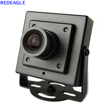 REDEAGLE 700TVL CMOS Проводной Мини Box Micro CCTV безопасности камера с металлическим корпумм сом 3,6 мм объектив