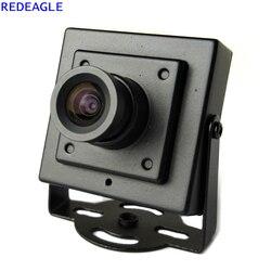 REDEAGLE 700TVL CMOS przewodowa Mini kamera do monitoringu cctv z metalowym korpusem obiektyw 3.6MM