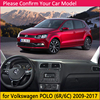 for Volkswagen VW POLO 6R 6C 2009 2017 5 MK5 Anti-Slip Mat Dashboard Cover Pad SunShade Dashmat Carpet Car Accessories 2012 2015 review