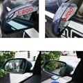 Espelho retrovisor chuva sobrancelha flap escudo sombra à prova de chuva para mitsubishi fortis grandis pajero zinger l200 mirage estilo do carro pvc