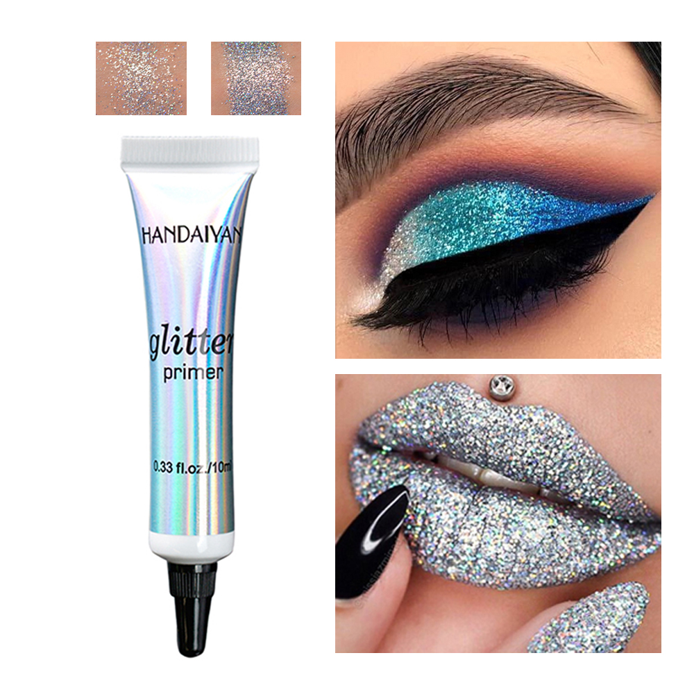 Eye Makeup Base Long Lasting Glitter Primer Glue Pre-makeup Cream For Eyeshadow And Lip Make Up Sequins Fixed Foundation Primer