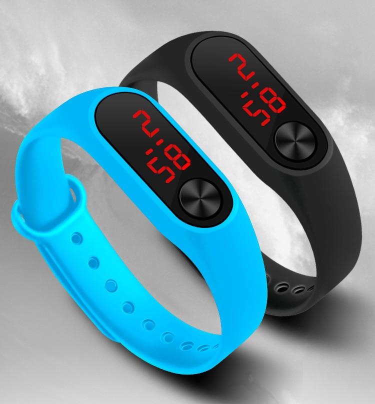 2019 New Watch Kid Sport Watches Led Ceasuri Clock Relogios Watch Fashion Enfant Children Female Male Wristwatches Reloj Mujer