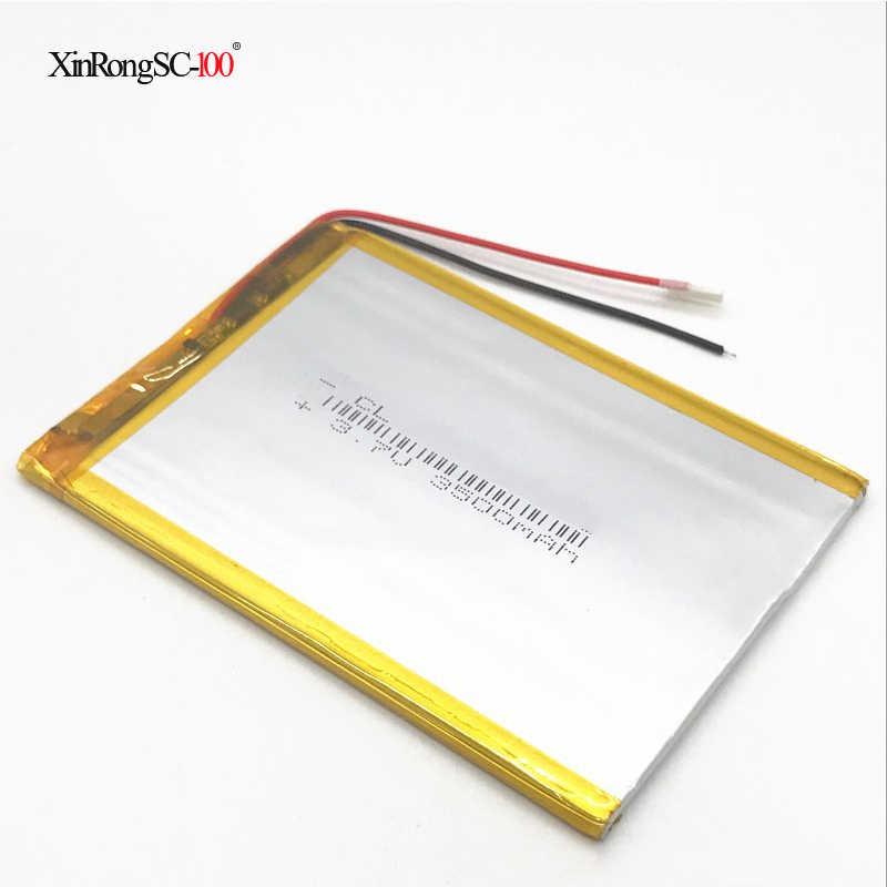 317090 407090 3.7V 3.8V 3500mAh Li-ion Polymère Batterie Pour Ordinateur Portable Tablette PC iPAQ E-Book Ritmix RMD-726 RMD-753 RMD-752 427093