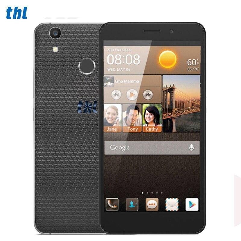 4G THL T9 Plus 16GB 2GB 360 Degrees Fingerprint Identification 5 5 Android 6 0 MTK6737