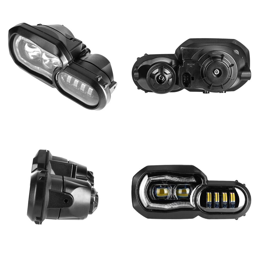 Marque E9 pour BMW F700GS F800GS Adv F800 GSA complet projecteur LED phare assemblage phare Angle oeil feux de jour - 4