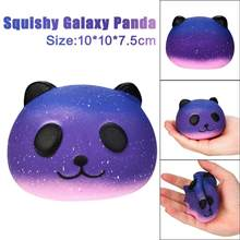 Squeeze Squishys Galaxy Cute 10 CM Panda Cream Scented Squishy Funny Gadgets Anti Stress Novelty Antistress Toys Gift Oyuncak(China)