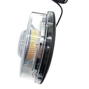 Image 4 - Bernstein LED Strobe Licht Leuchtfeuer Fahrzeug Auto Dach Top Gefahr Warnung Flash Notfall Lichter Rotierenden Blinkt Sicherheit Signal lampe