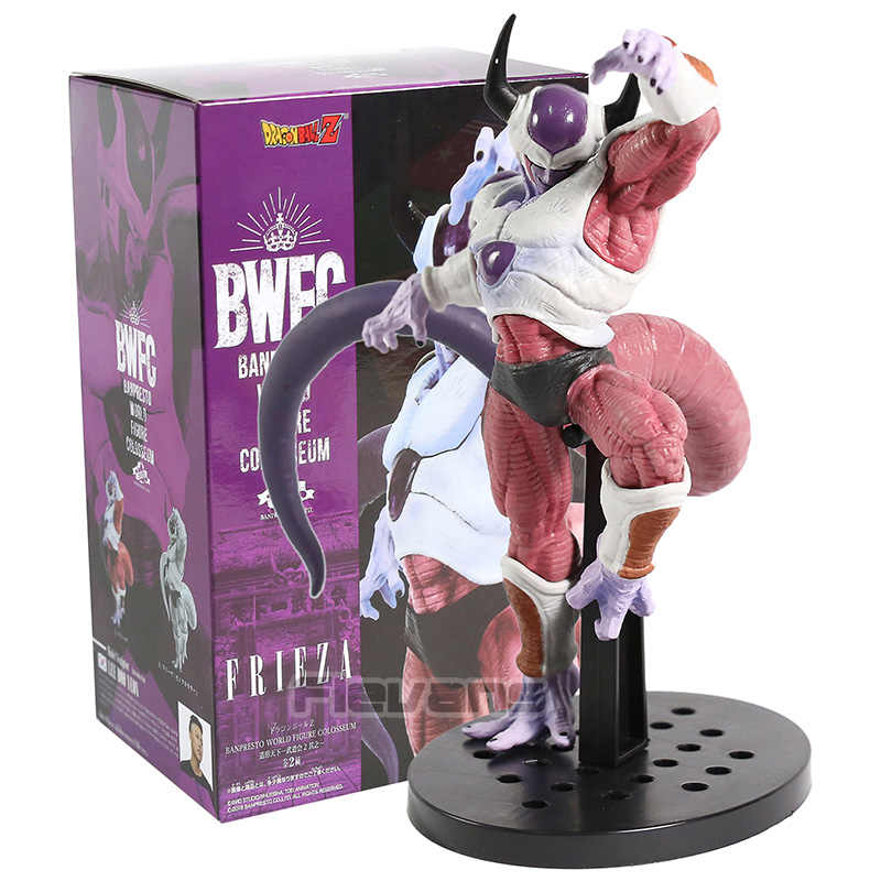 Dragão bola z freeza frieza bwfc banpresto figura do mundo coliseu figura pvc collectible modelo de brinquedo