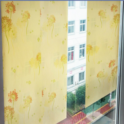 2016 new bestselling PVC waterproof self-adhesive wallpaper Rice yellow dandelions wall stickers dormitory wardrobe shoe ark new fashion classical powder yellow pink yellow abstract art wallpaper stripe fabric vision tv wall stickers vintage waterproof