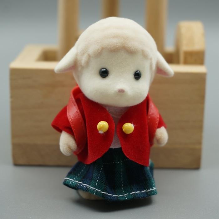 Moutons soeur dressing uniformes mini taille Sylvanian Famille Chiffres  Anime personnages de dessins Animés, jouets Enfant Jouets cadeau c74400fba127