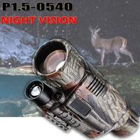 P1.5 0540 Digital Night Vision BINOCULAR IRLED Night Hunting Camorder 5X40 Zoom Night Vision Device nighthunting Nightvision
