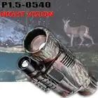 P1.5 0540 Digitale di Visione Notturna BINOCULARE IRLED Notte di Caccia Camorder 5X40 Zoom di Visione Notturna Dispositivo nighthunting Nightvision