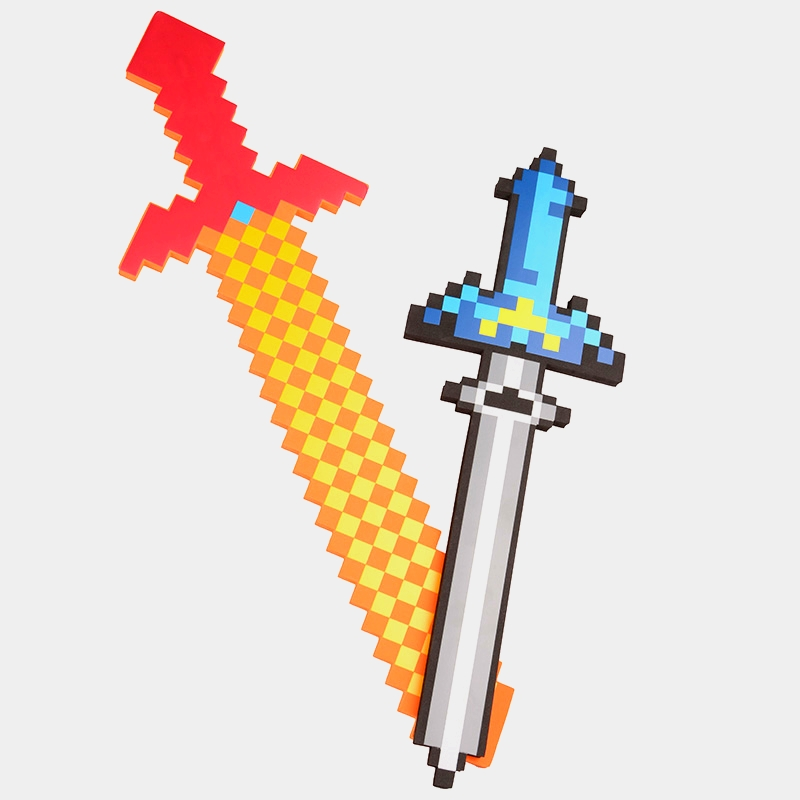Newest Minecraft Toys Minecraft Sword Pickaxe Action Figures Toys Children's Toys Festival Birthday Gifts 60-80 cm for buick excelle car driving video recorder wifi dvr mini camera black box novatek 96658 fhd 1080p dash cam night vision