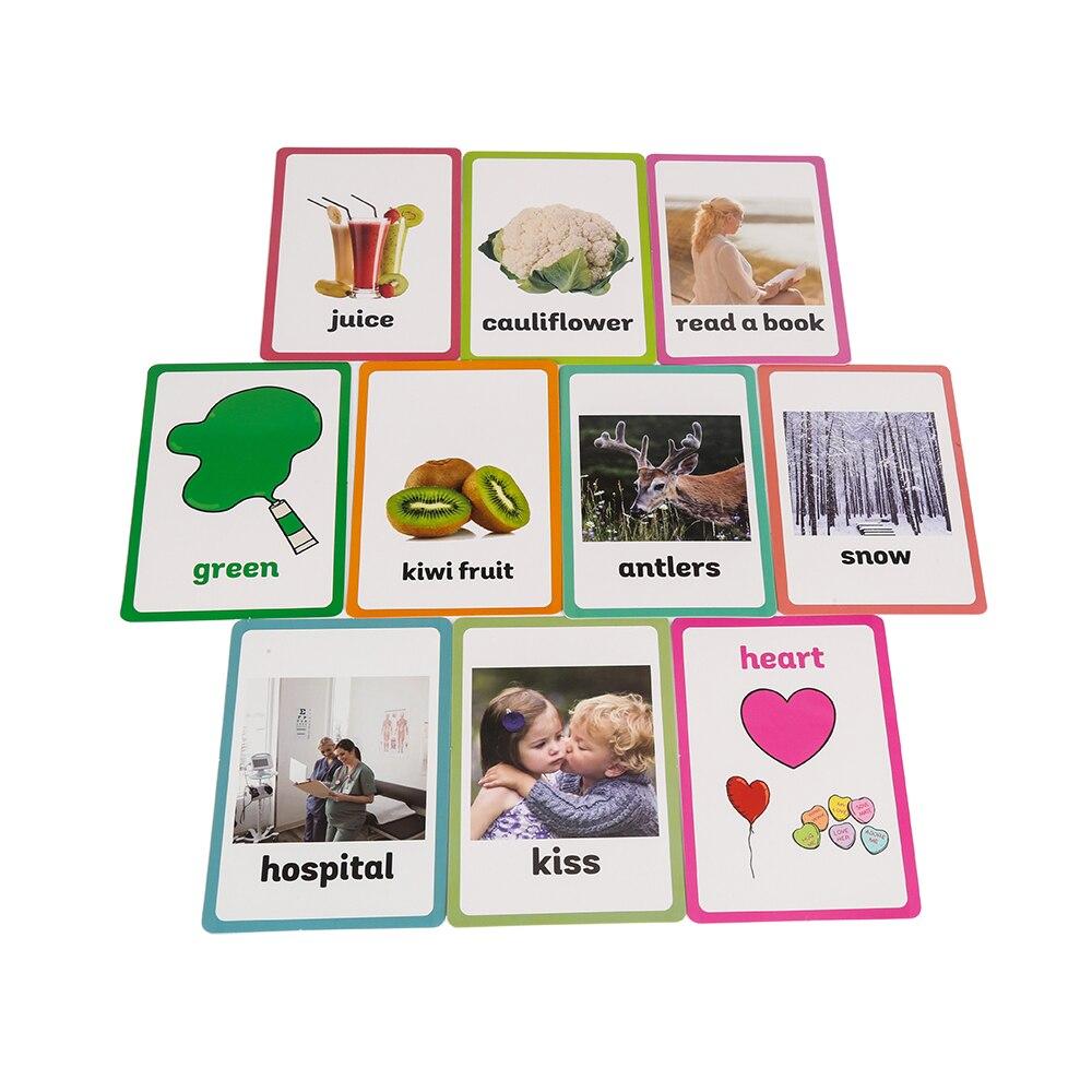 26 catégories 760 pièces apprendre l'anglais mot carte Flashcards Juguetes Educativos enfants jouets éducatifs pour enfants début d'apprentissage - 6