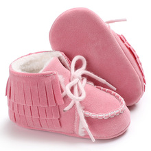 2019 New Baby Moccasins Infant Shoes Soft Soled Non-slip Crib PU Leather First walkers 1pair baby first walkers red camouflage pattern soft leather shoes lace up fashion non slip footwear crib shoes all season