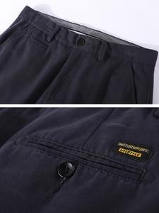 Image 4 - פיוניר מחנה 2019 מכנסי קזואל גברים מותג בגדים באיכות גבוהה סתיו ארוך חאקי מכנסיים אלסטיים בתוספת גודל זכר מכנסיים AXX902191