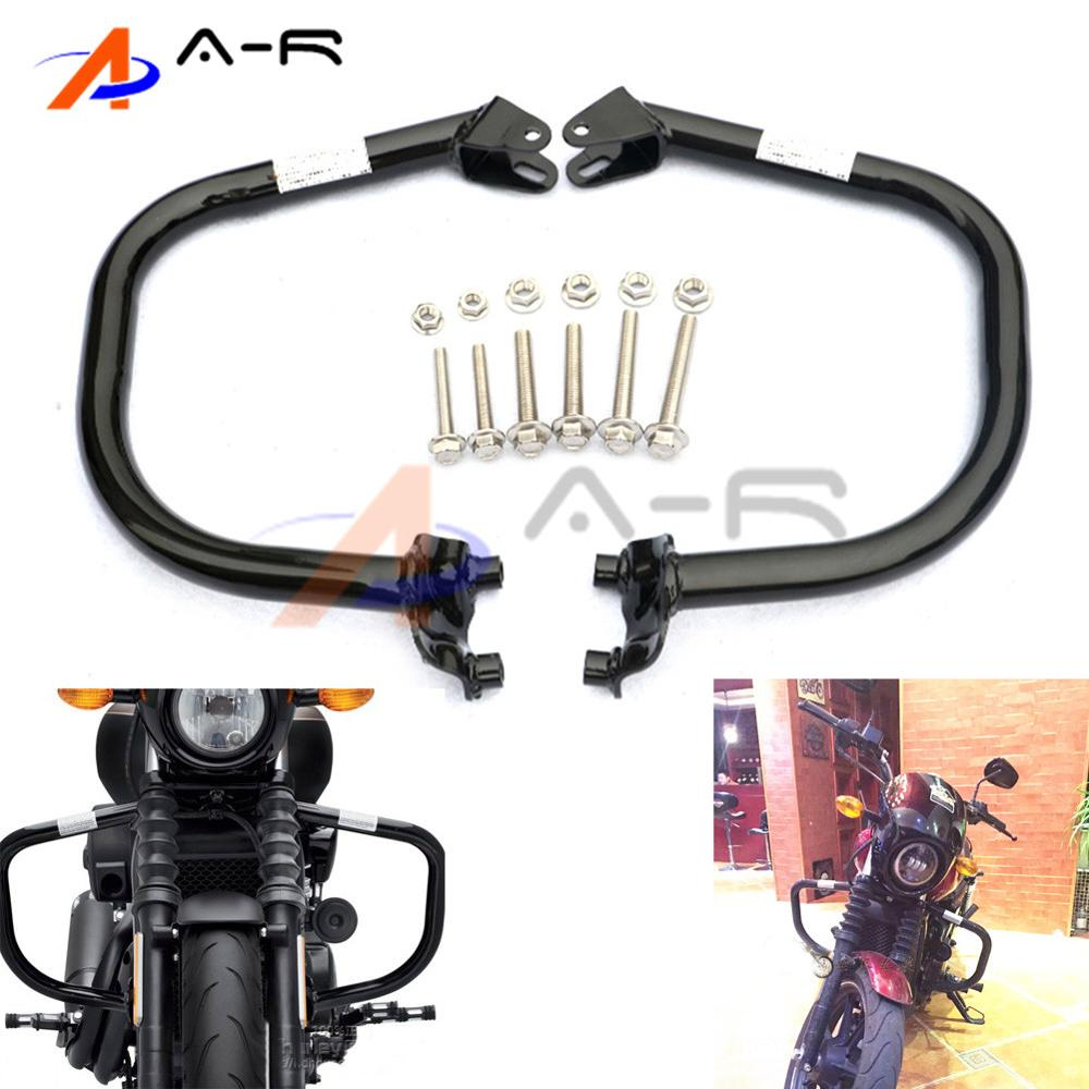 Bumpers & Chassis Strict Front Bumpers Buffer Highway Crash Bars Engine Guards Knee Leg Protector For Harley Street 500 Xg500 750 Xg750 2015-2017 2016 Unequal In Performance