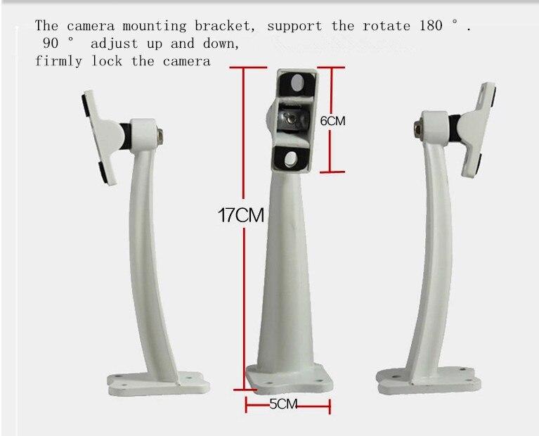 Outdoor security surveillance camera head bracket CCTV Accessories special aluminum alloy stent