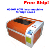 No Tax To EU LY CO2 6040 Laser Engraver 60W Tube Laser Cutting Machine Blowing Function