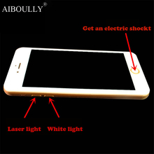 Christmas gift creative power spoof strange whole shock practical joke props to the children's toy mobile phone model