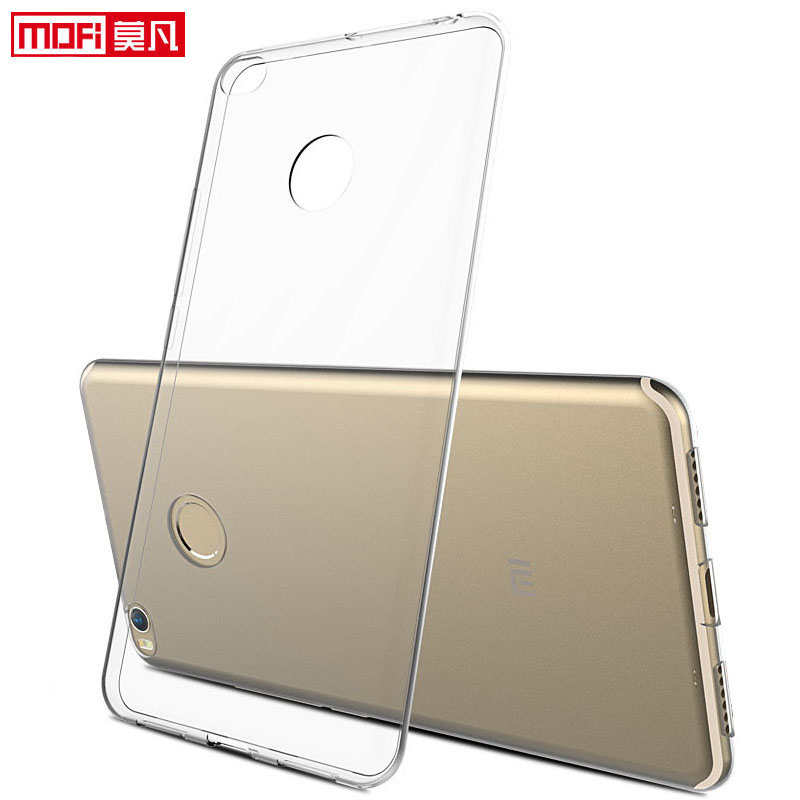 "xiaomi mi max 2 case xiaomi max 2 cover silicon clear soft back mofi ultra thin 6.44"" xiaomi mi max 2 cover xiaomi max 2 case"