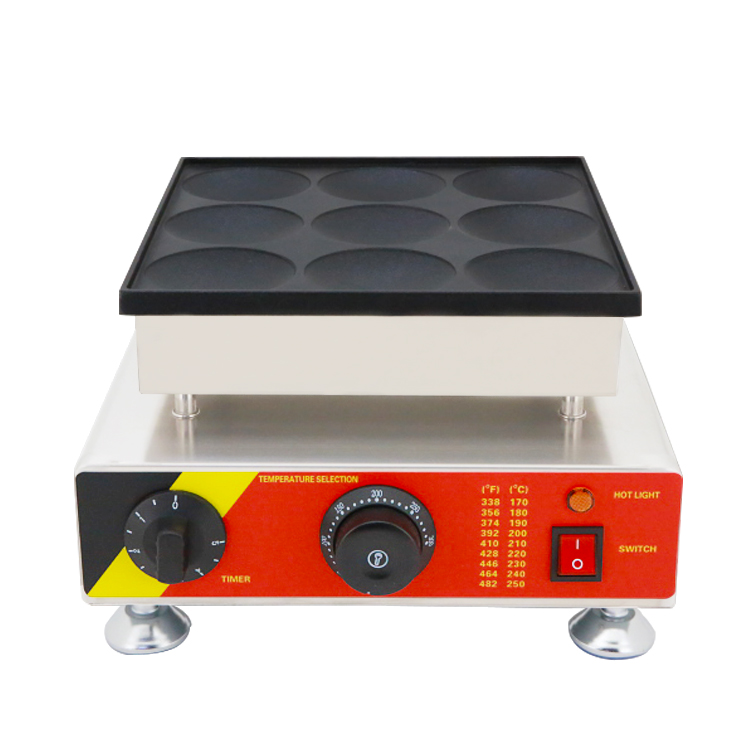 high quality poffertjes grill machine snack bakery equipment pancake maker with Ce in Waffle Makers from Home Appliances