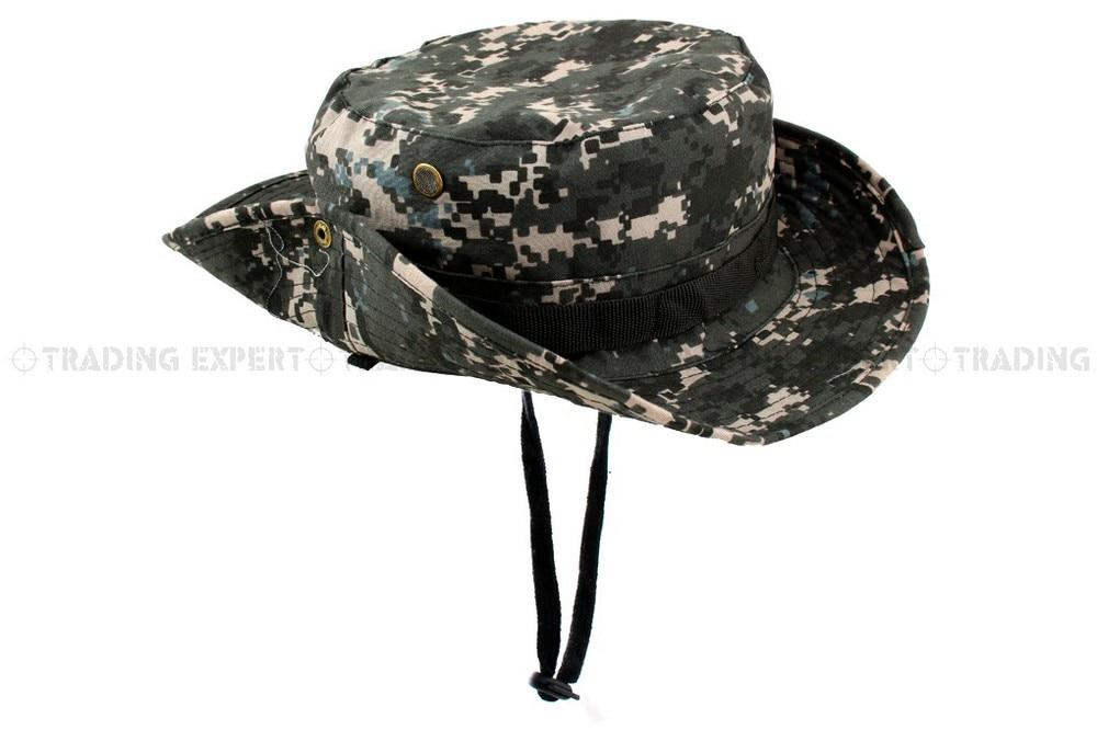 USMC спортивная мужская бейсбольная кепка Кепка и шляпа Multicam Boonie hat(CP ACU Woodland Green BK GW MD MU SC - Цвет: MU