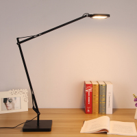 Ecolight Free Shipping Modern Kelvin Led Desk Lamp 7W Warm White 3 Steps Touch Dimmer Reading Table Lamp Office Light