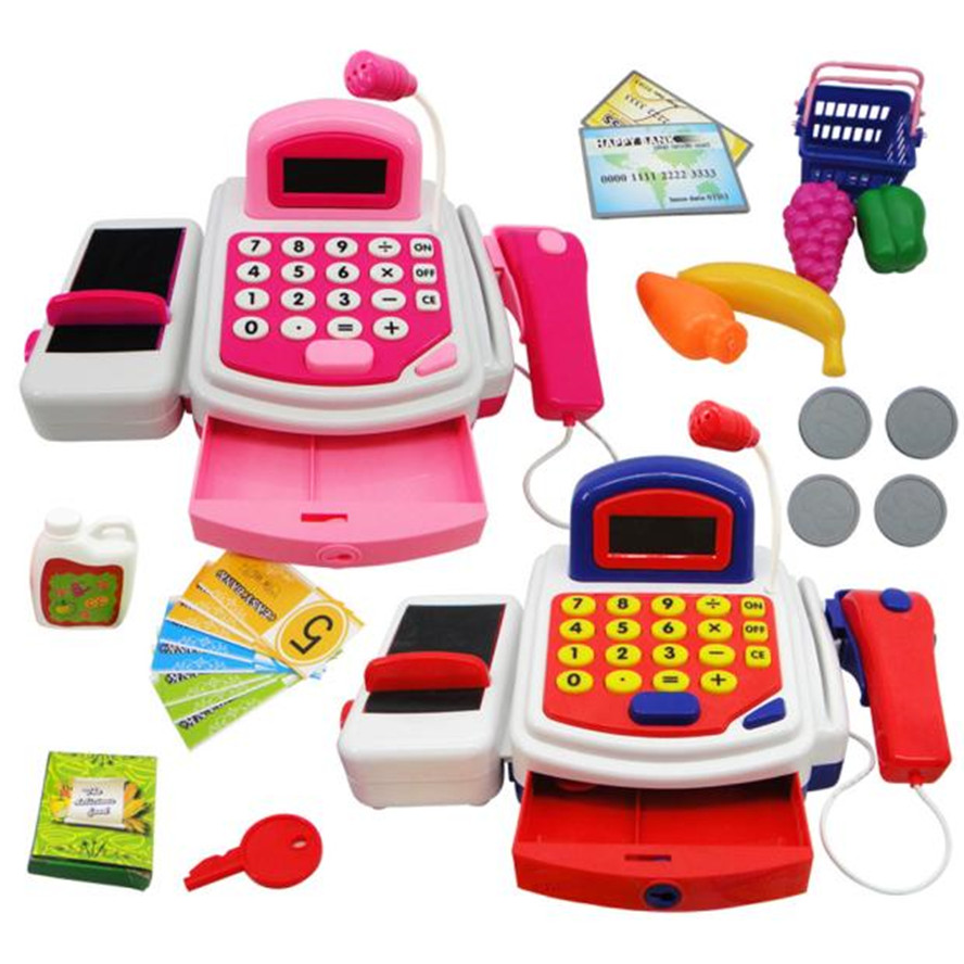 Hiinst Kids Kitchen Toys 2017 Pretend Play Electronic Cash