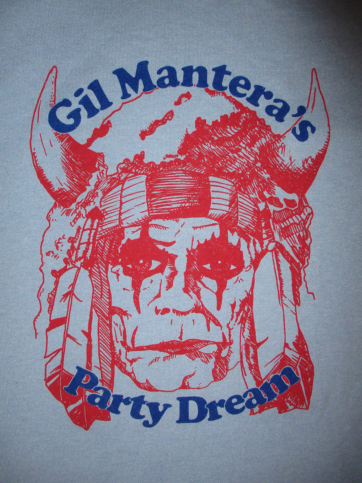 GIL MANTERAS PARTY DREAM CONCERT T SHIRT Youngstown Ohio SynthPop Dance Band LG