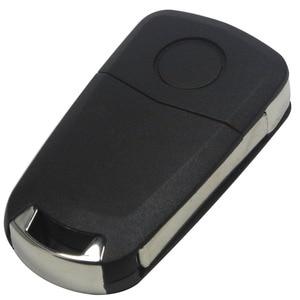Jingyuqin 2/3 бутоны раскладной чехол для ключей с дистанционным управлением для Vauxhall / Opel / Astra H / Corsa D / Vectra C / Zafira