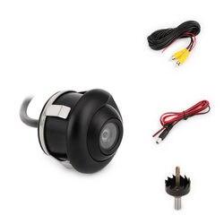 360 stopni HD CCD tylna kamera samochodowa kamera cofania FULL HD Night Vision tylna kamera do Auto wodoodporna kamera parkowania w Kamery pojazdowe od Samochody i motocykle na